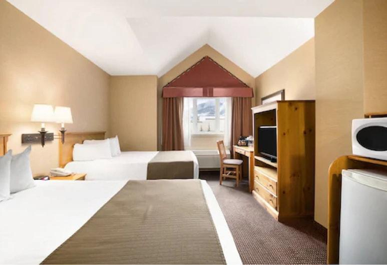 Canmore Inn & Suites, Canmore, Dobbeltrom – economy, 2 dobbeltsenger, Gjesterom