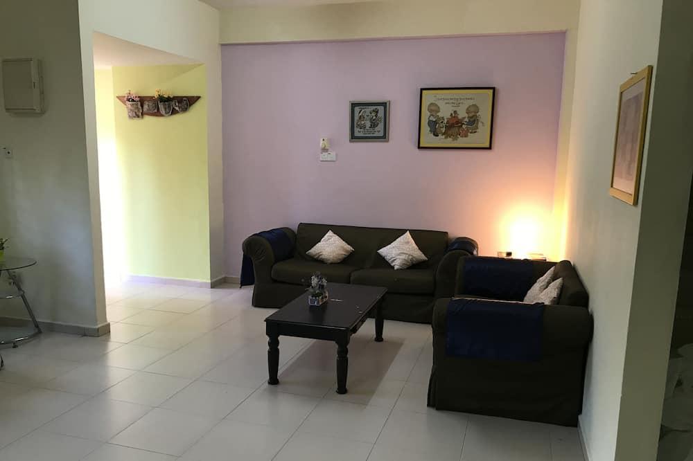Habitación doble básica, 1 cama Queen size - Sala de estar