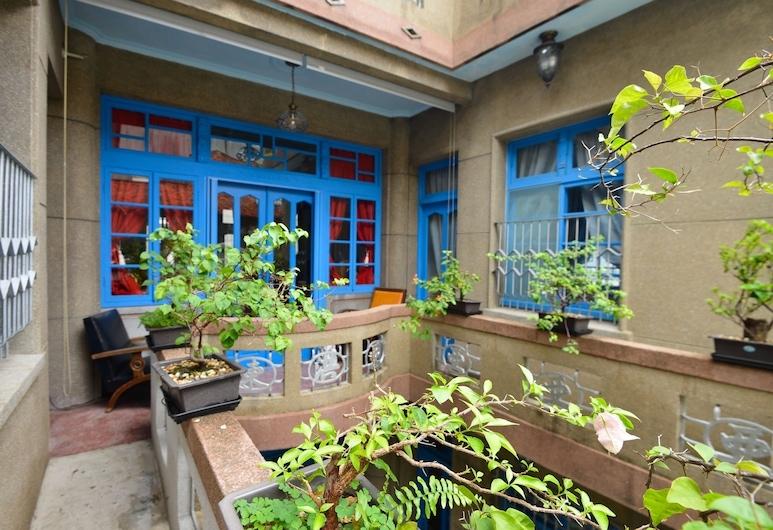 Chikan West Homestay, Tainan, Prezidentský byt, 3 spálne, balkón, s výhľadom do záhrady, Balkón