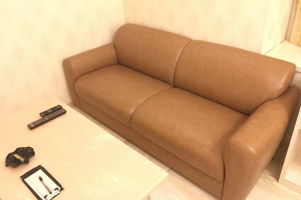 Стандартный двухместный номер с 1 двуспальной кроватью, 1 двуспальная кровать «Квин-сайз» - Зона гостиной