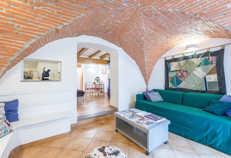 Pitti Place, Florence, Apartemen Comfort, 1 kamar tidur, non-smoking, Ruang Keluarga