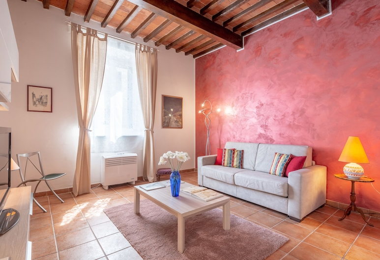 Santa Rosa Place, Florence, Comfort Apartment, 1 Bedroom, Non Smoking, Living Room