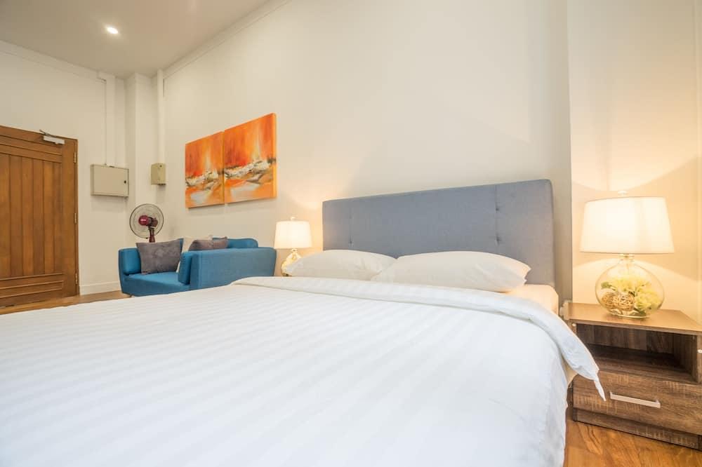 Eenvoudige studio, 1 queensize bed - Woonruimte