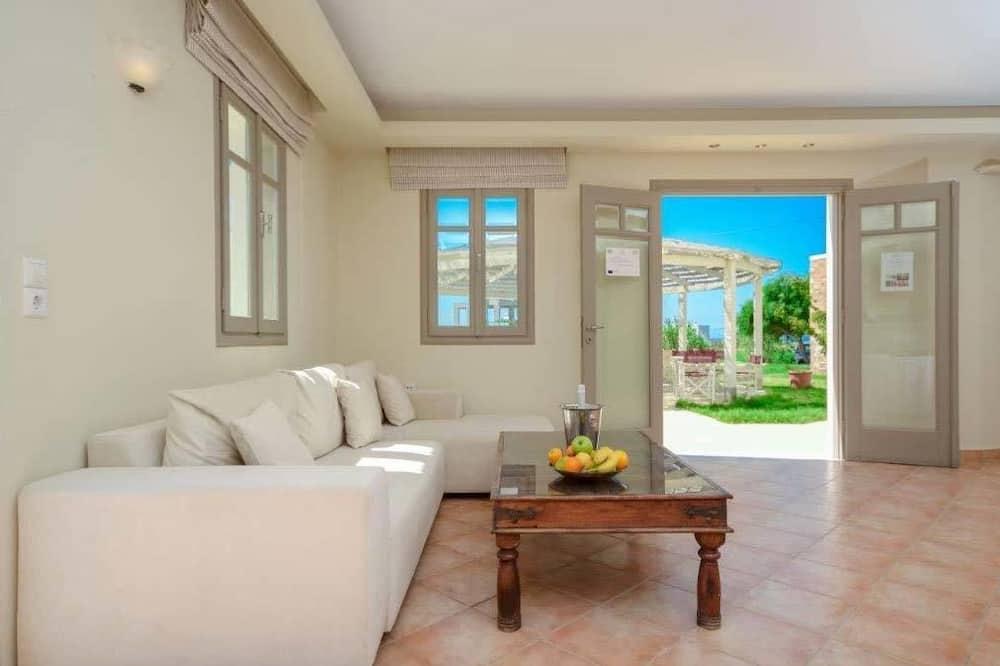 Čtyřlůžkový pokoj - Obývací pokoj