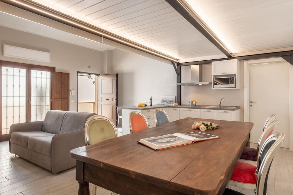Comfort Apartment, 1 Bedroom, Non Smoking (Viola 4) - Living Area