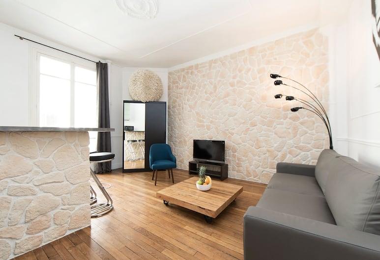 Réaumur - Montorgueil Private Apartment, Pariis, City külaliskorter, 1 magamistoaga, köögiga (20. REAUMUR - 7510202107901), Elutuba