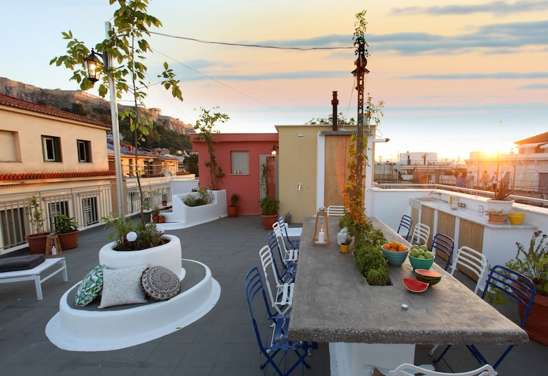Live in Athens, Plaka Suites, Athens, Standard Suite (Sweet Suite #15, #18), Terrace/Patio