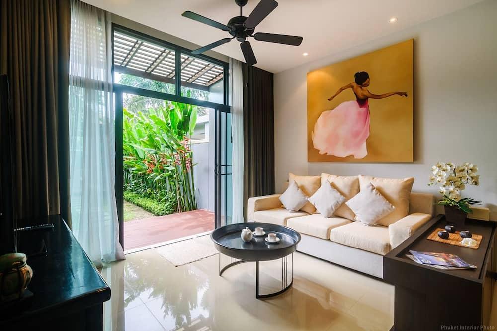 Villa, 2 slaapkamers - Woonkamer