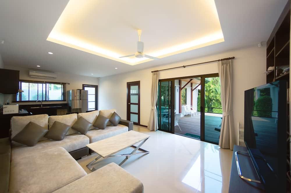 Villa, 3 chambres - Coin séjour