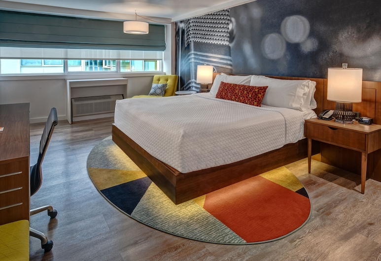 Hotel Indigo Memphis Downtown, Memphis, Room, 1 King Bed, Non Smoking (Feature), Guest Room