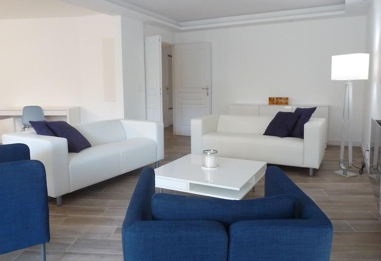 波尼奥 3 号酒店, 戛纳, 公寓, 3 间卧室, 起居室