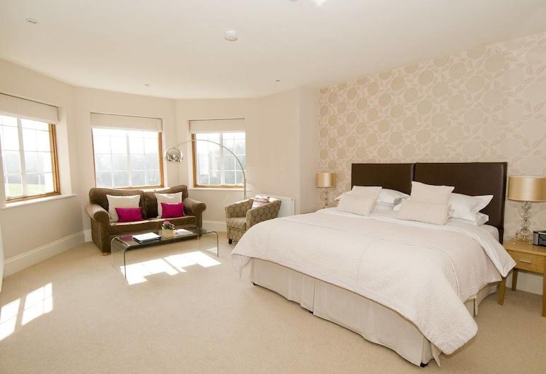 デットモア ハウス, Cheltenham, ダブルルーム 浴槽, 部屋