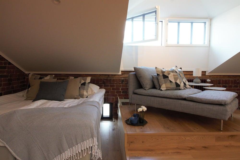 Deluxe Loft, Sauna, Sea View - Living Room