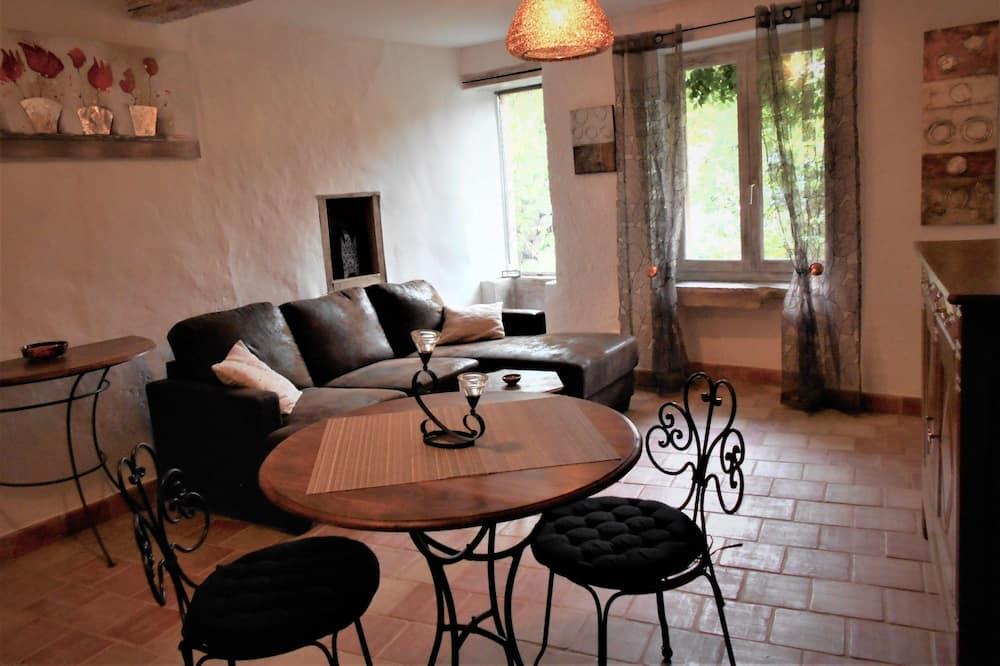 Cottage (Le Bien-Fée-Zant) - Area soggiorno