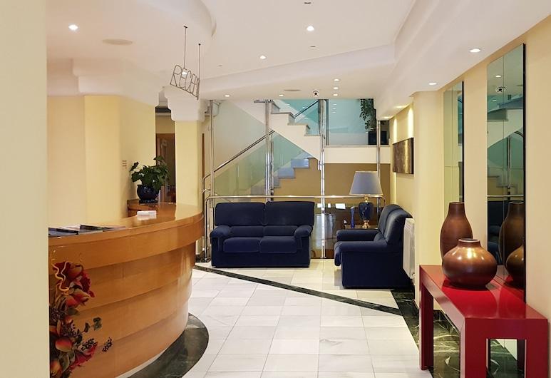 Hotel Isabel, Briviesca, Resepsjon