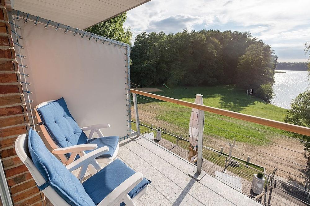 Comfort-Doppelzimmer, Balkon, Seeblick - Balkon