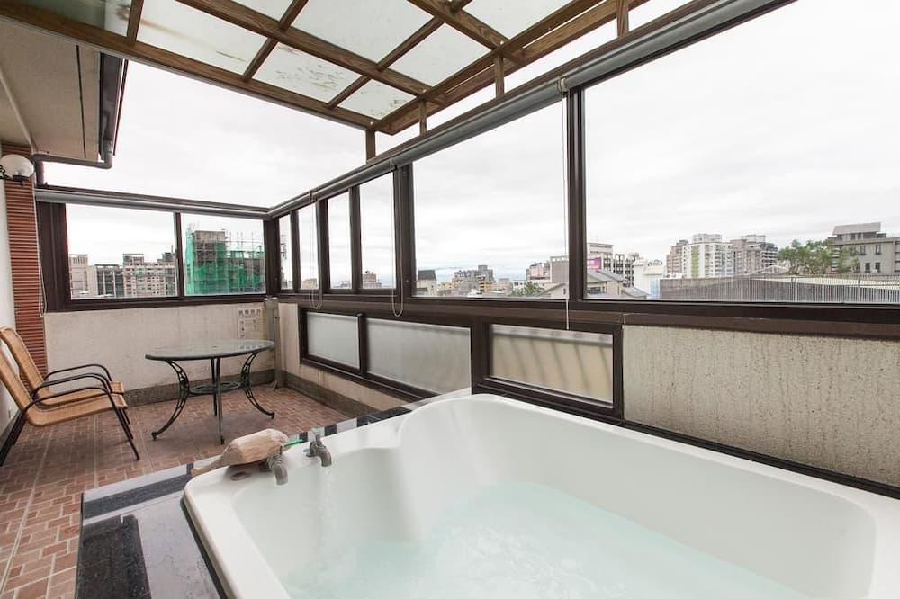 Familien-Loft, Mehrere Betten, Nichtraucher, Terrasse - Badezimmer