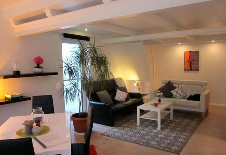 Hotel Altes Pfarrhaus, Alt Schwerin, Habitación doble Confort, Sala de estar
