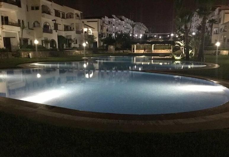 Appartement de Luxe aux Jardins de Cabo, M'diq, Vonkajší bazén