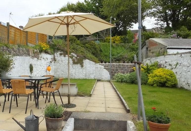 Quarry Cottages 3, Tenby, Speisen im Freien