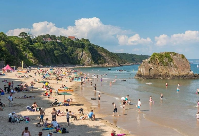 Sunny Steps Cottage, Tenby, Pantai