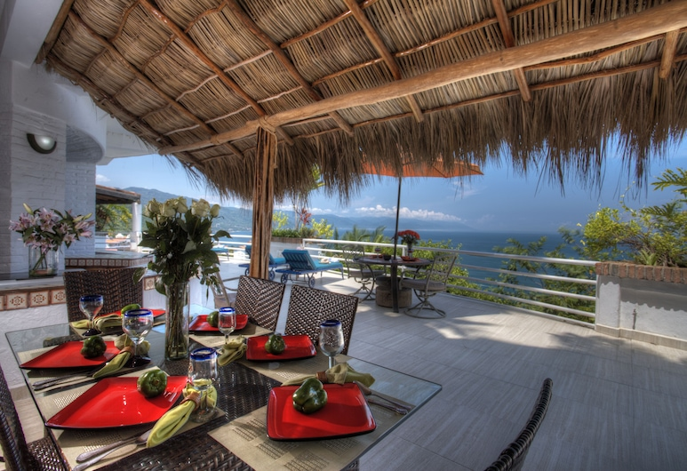 Villa Azul, Puerto Vallarta, Panoramic Villa, Multiple Beds, Private Pool, Terras