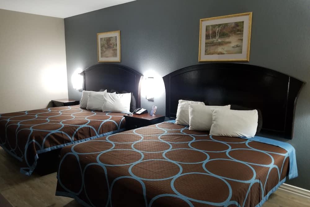 客房, 2 張加大雙人床, 非吸煙房 - 客房