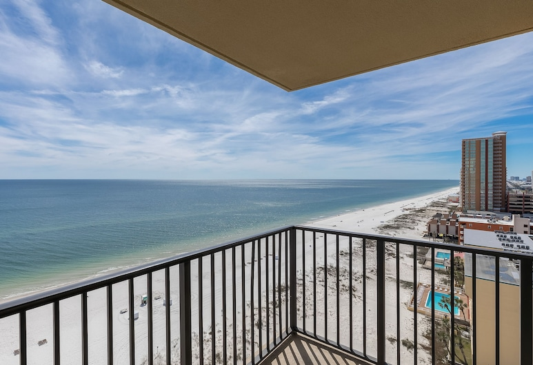 Phoenix All Suites West Hotel, Gulf Shores, Suite Deluxe (King), Terraza o patio