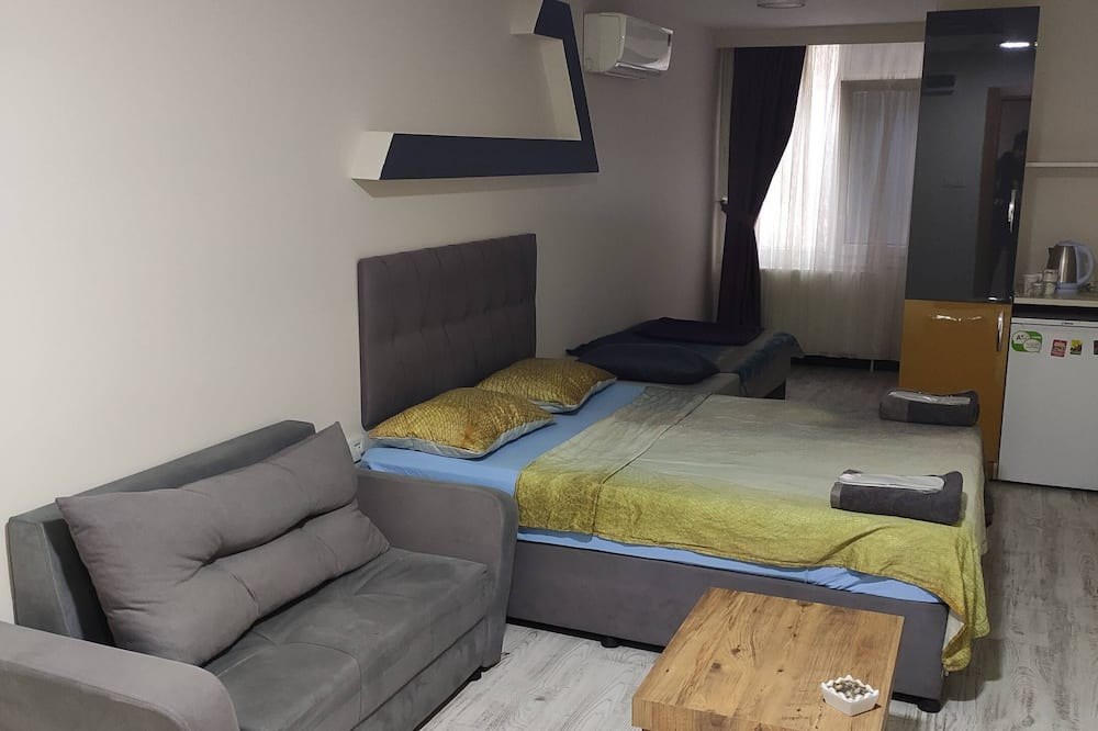 Deluxe kamer, 1 tweepersoonsbed - Woonruimte