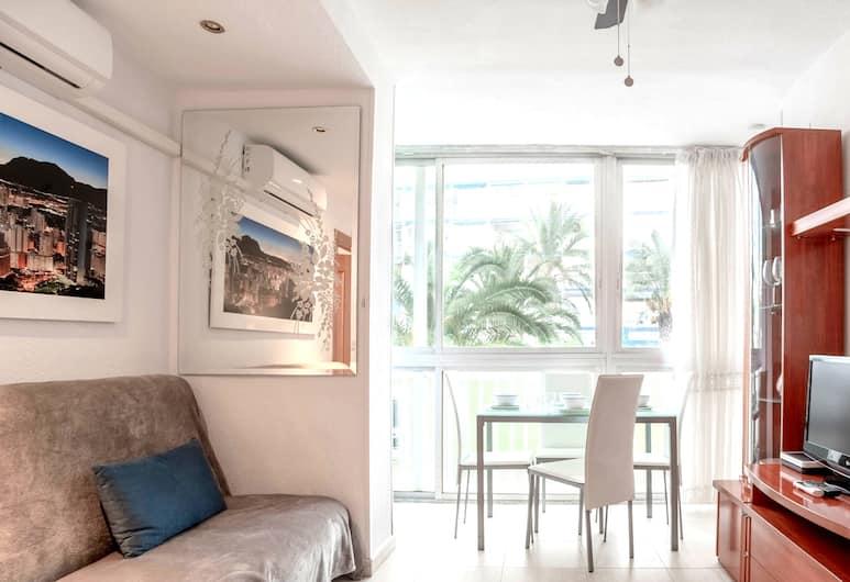 Edificio Aries, Benidorm, Апартаменты, 1 спальня, терраса, Зона гостиной