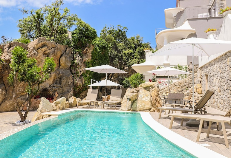 卡魯索別墅飯店, Forio, 室外游泳池