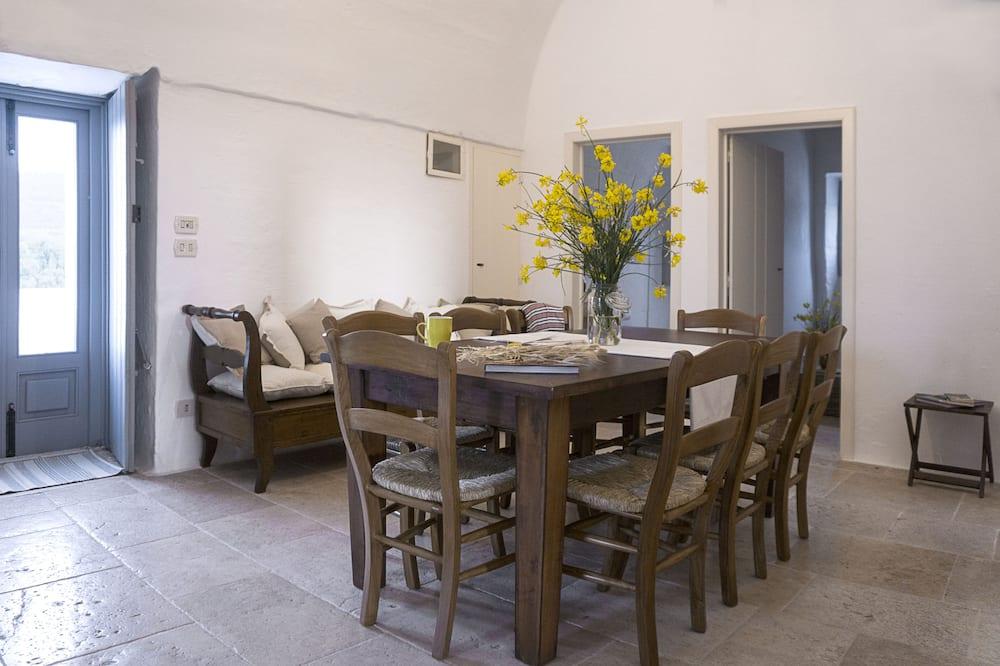 套房, 3 间卧室 (Fico d'India) - 起居区