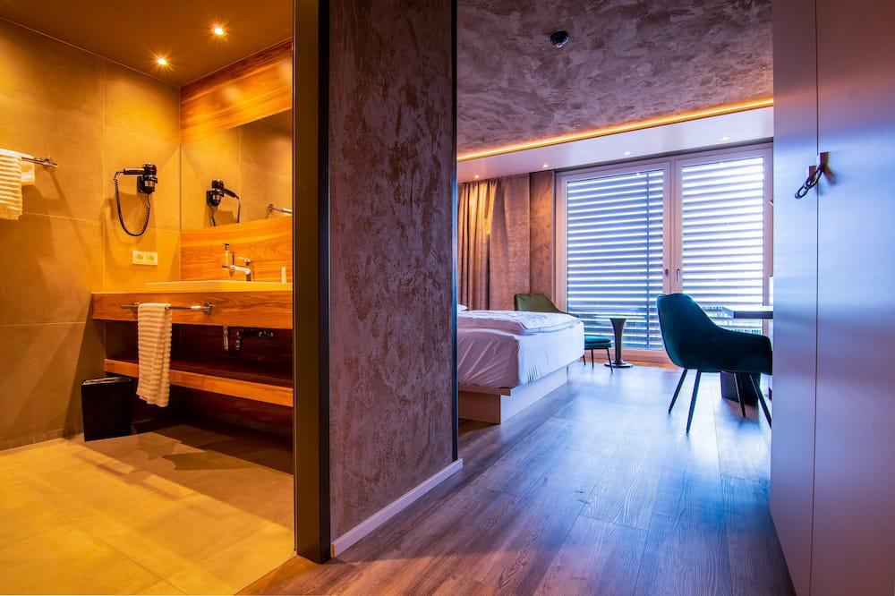 Comfort Room, Balcony - Living Area