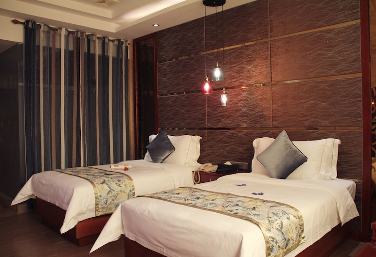 Kailong International Hotel, Shenzhen, Deluxe Twin Room, Guest Room