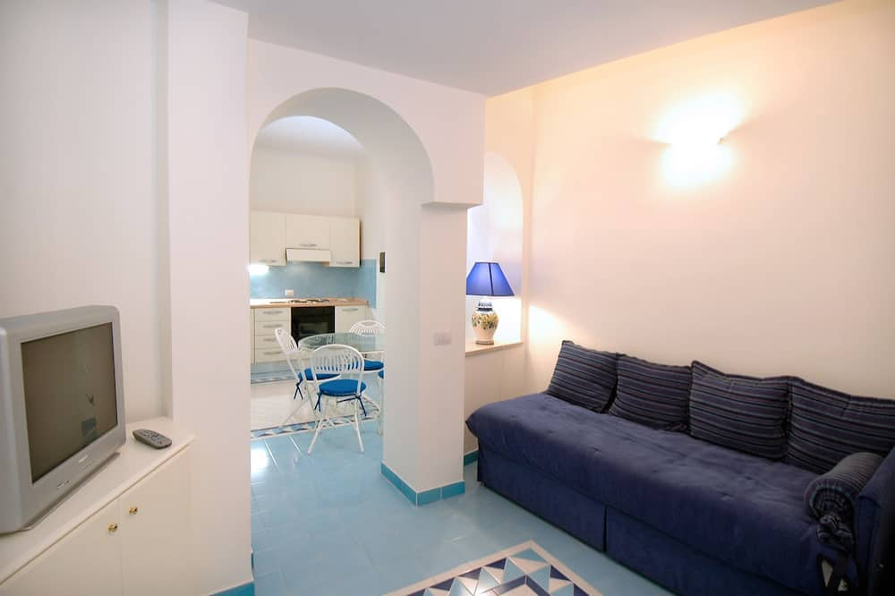 Classic Apartment, Patio - Living Area
