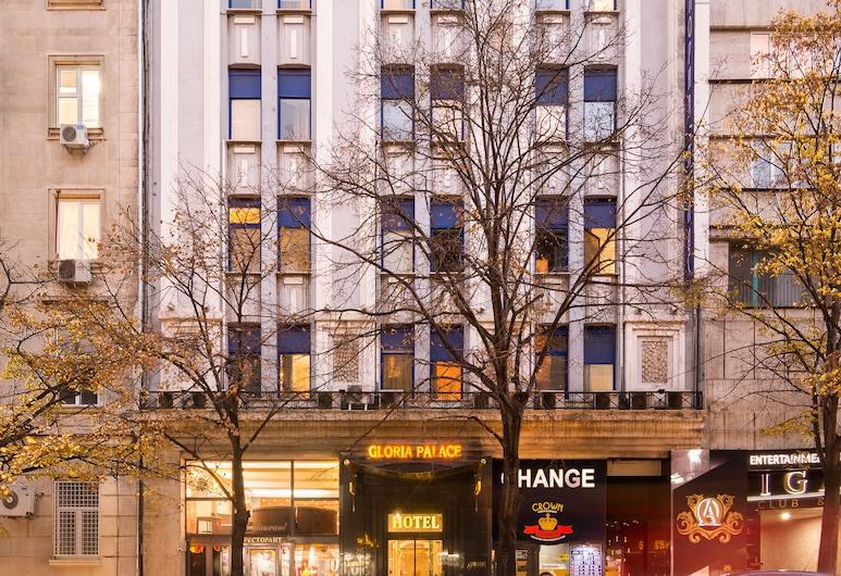 Gloria Palace Hotel, Sofia, Hotel Entrance