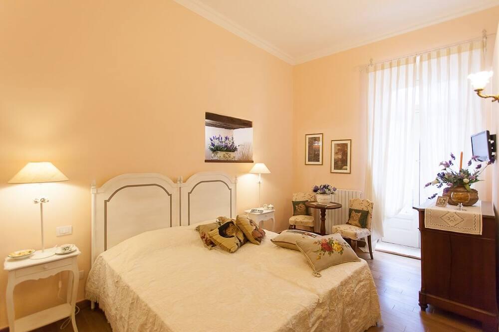 Double or Twin Room, Balcony - Bilik Tamu