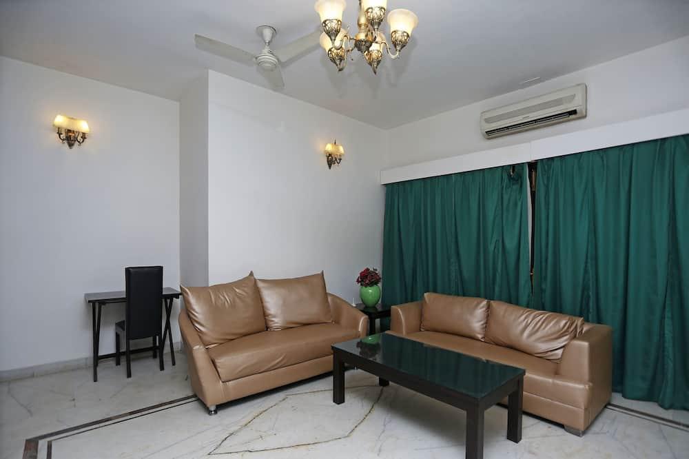Izba s dvojlôžkom alebo oddelenými lôžkami - Obývacie priestory