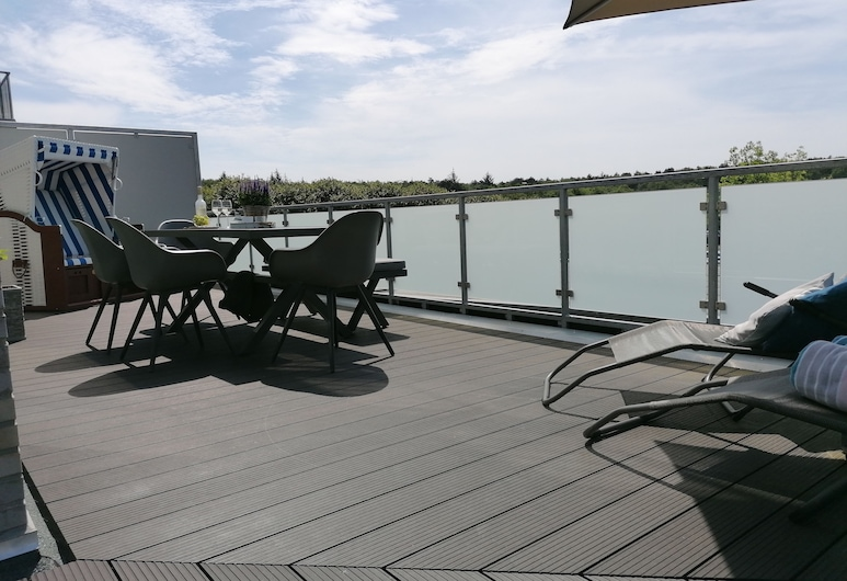 Quartier Hohe Geest 3, Cuxhaven, Apartment (incl 90€ cleaning and 12€ service fee), Terrace/Patio