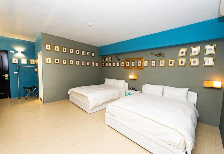 米豆文旅, 台東市, 家庭四人房, 2 張標準雙人床, 客房