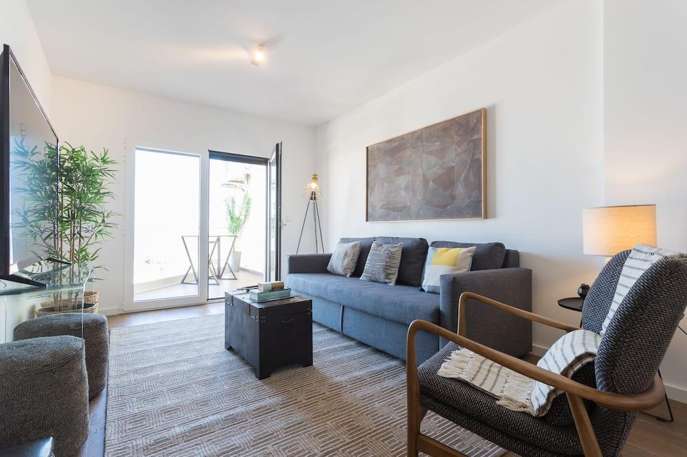 Apartament typu Panoramic, 3 sypialnie, widok na rzekę - Powierzchnia mieszkalna
