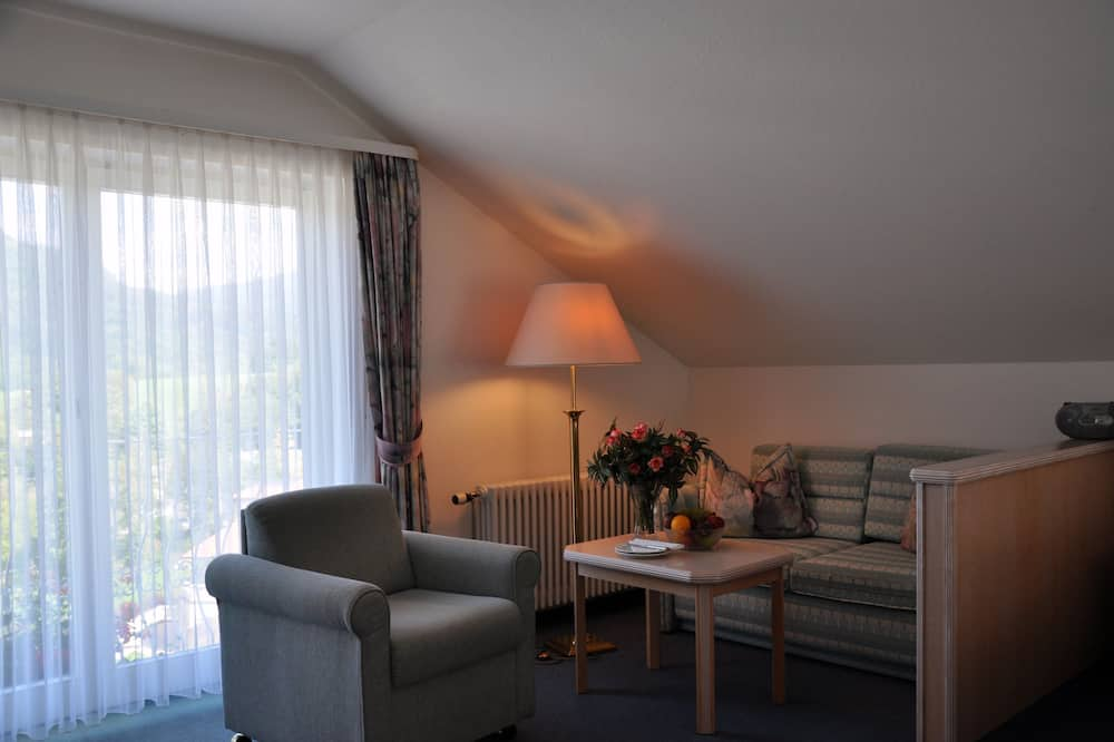Pokoj Superior s dvojlůžkem - Obývací prostor