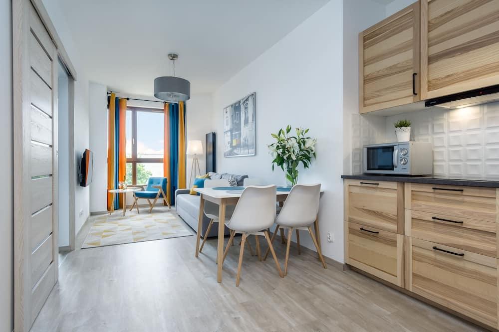 อพาร์ทเมนท์ - พื้นที่นั่งเล่น