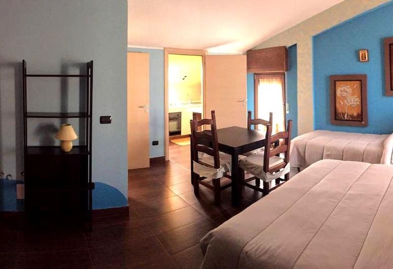 Bed And Breakfast Monte Vulture, Rionero in Vulture, Studio, taras, Pokój