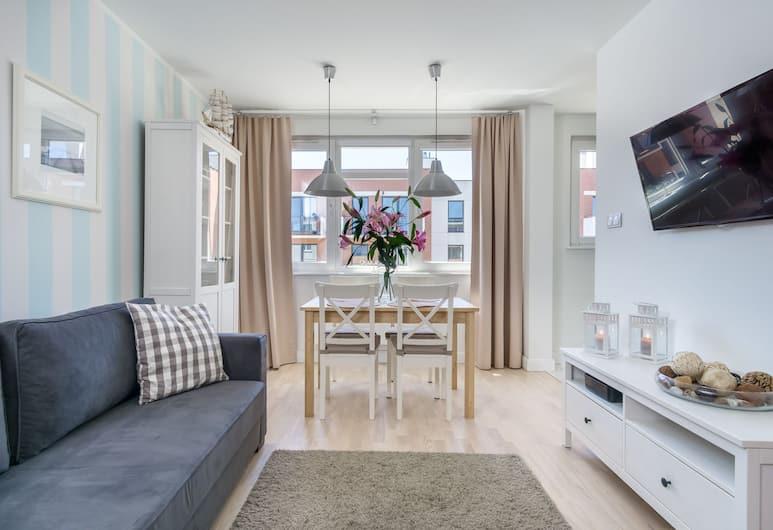 Elite Apartments Center Grobla, Gdansk, Apartment, Ruang Tamu