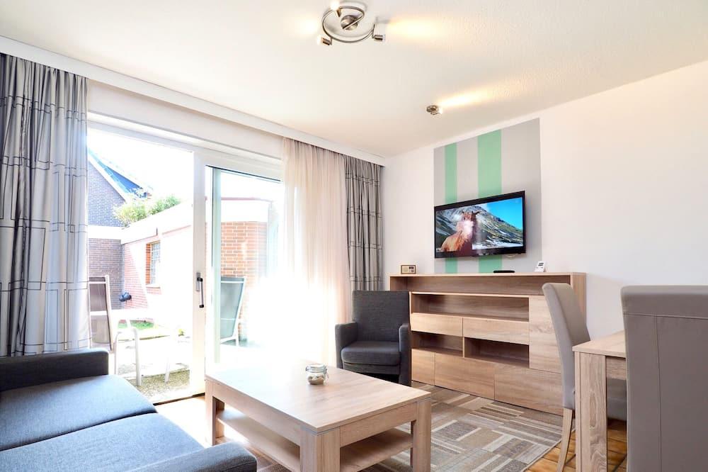 Appartement, 1 slaapkamer (1) - Woonkamer