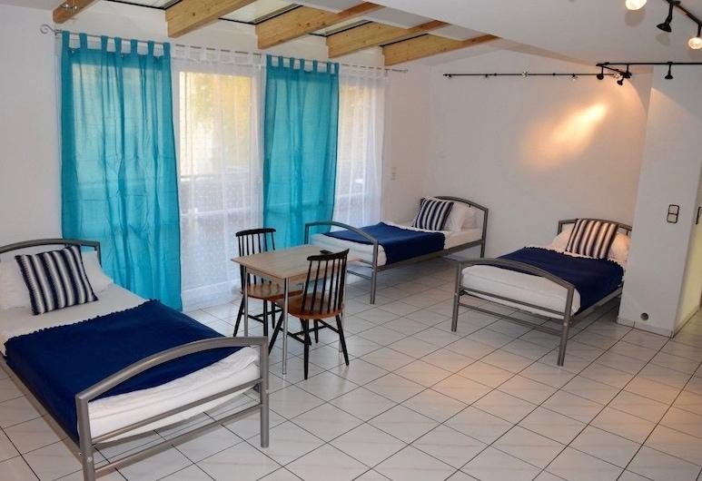 AB Apartments - Apartments Markroeningerstrasse, Stuttgart, Huoneisto, 4 makuuhuonetta (62-00), Huone