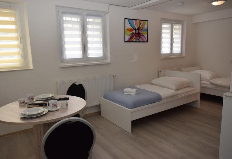 AB Apartments - Apartments Terrotstrasse, Stuttgart, Apartment, 1 Bedroom (102-00), Room