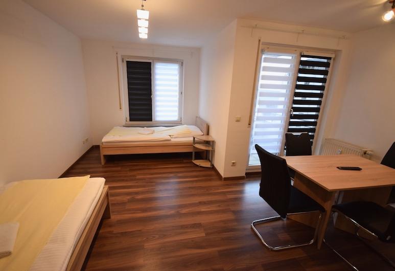 AB Apartment 72 - In Plochingen, Plochingen, Lejlighed - 2 soveværelser (72-00), Opholdsområde