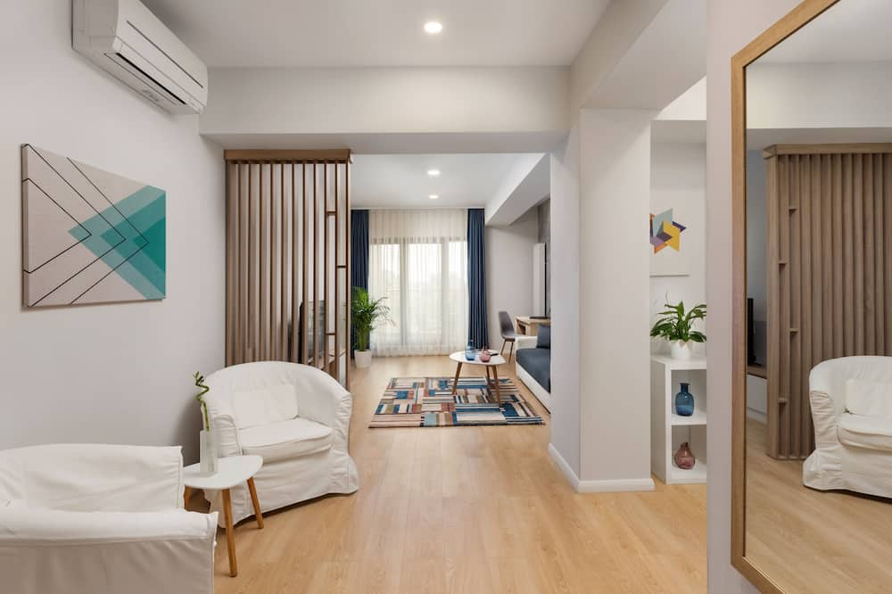 Dobbeltrom – standard, balkong - Oppholdsområde